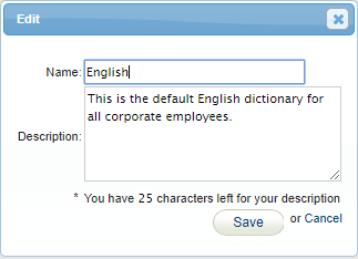 dictionary-change-name-edit-screen
